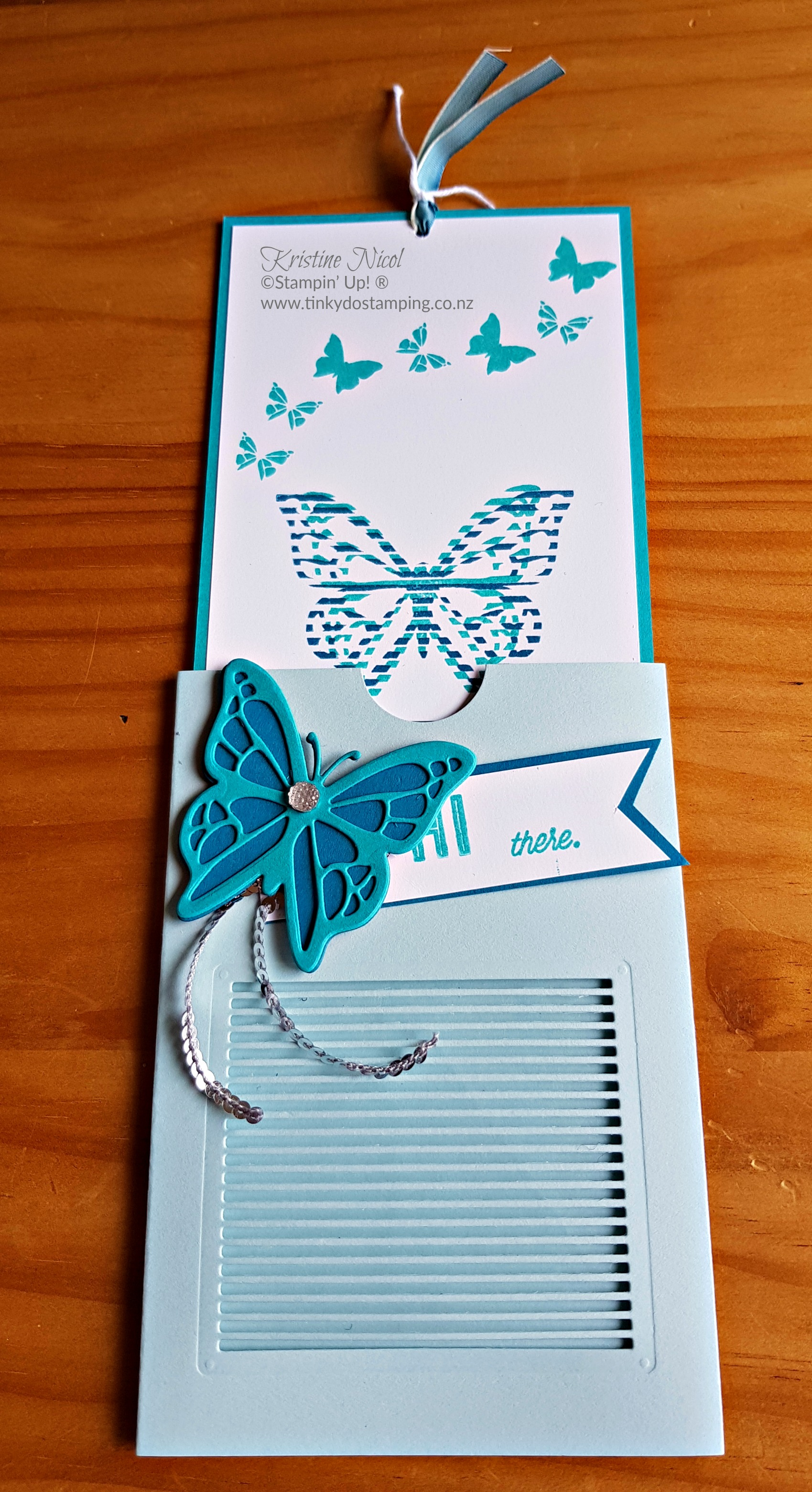 You Move Me Flutter Card – Extravaganza 4 | Tinkydo Stamping